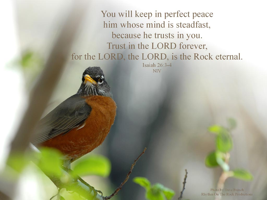 Isaiah 26.3-4