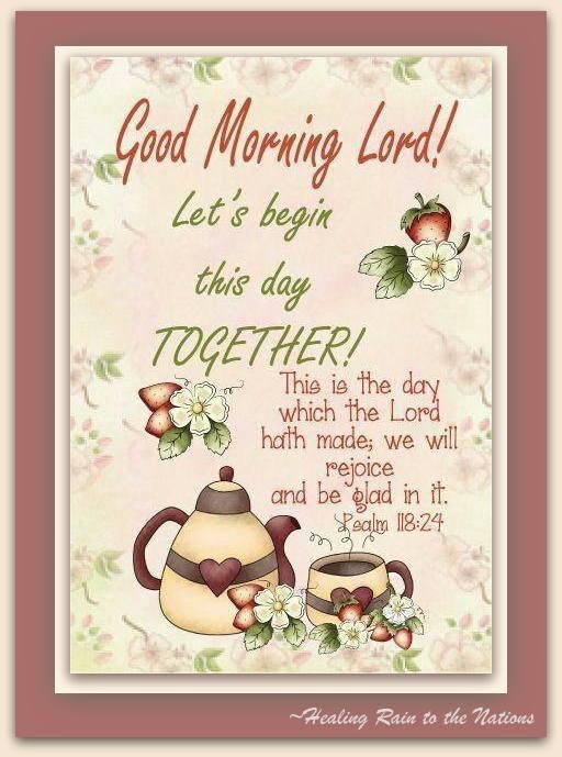HRN Morning Lord