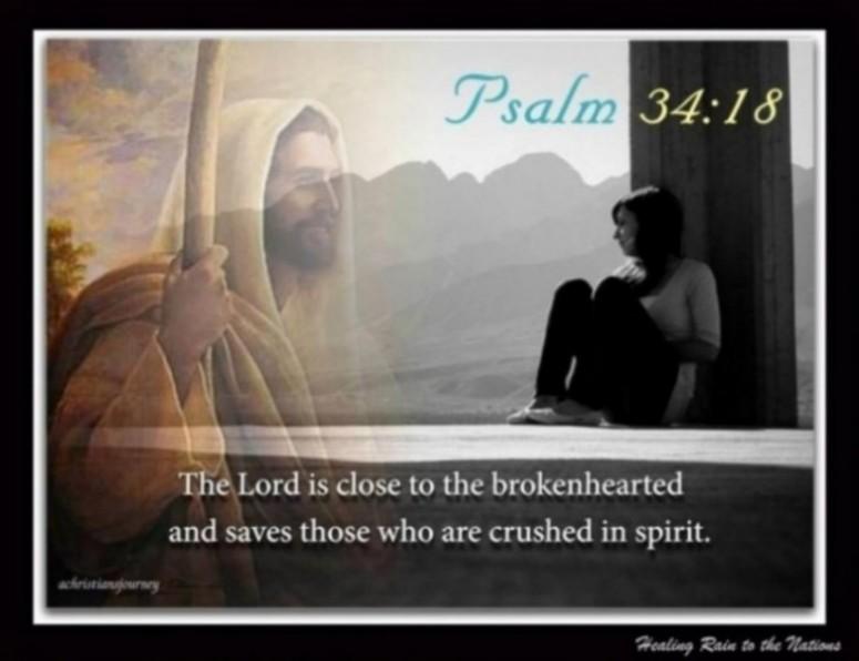 Psalm 34.18a