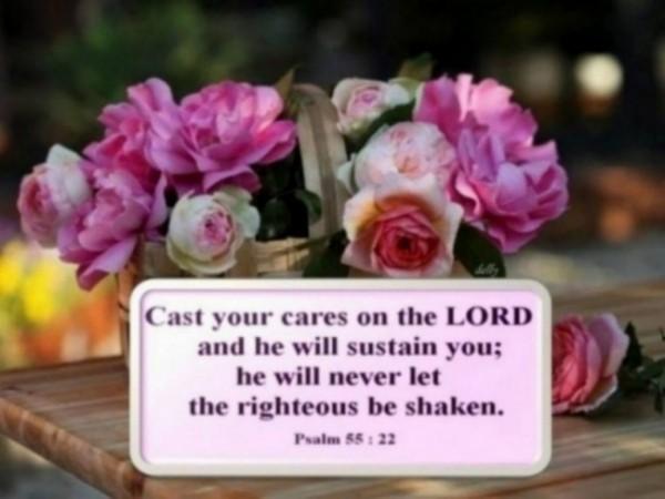 Psalm 55.22c