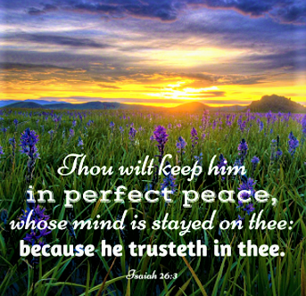 Isaiah 26.3a