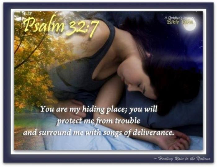 psalm 32.7