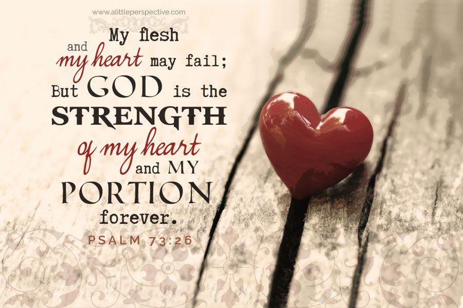 psalm 73.26c